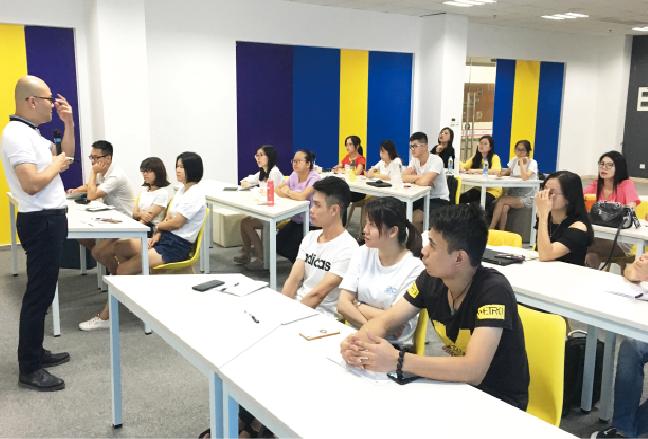 我司开展首期中层人员管理能力提升培训