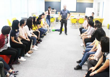 我司开展第二期后勤团队领导力系列培训课程