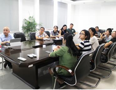 我司组织开展ISO9001 2015 新版标准知识培训